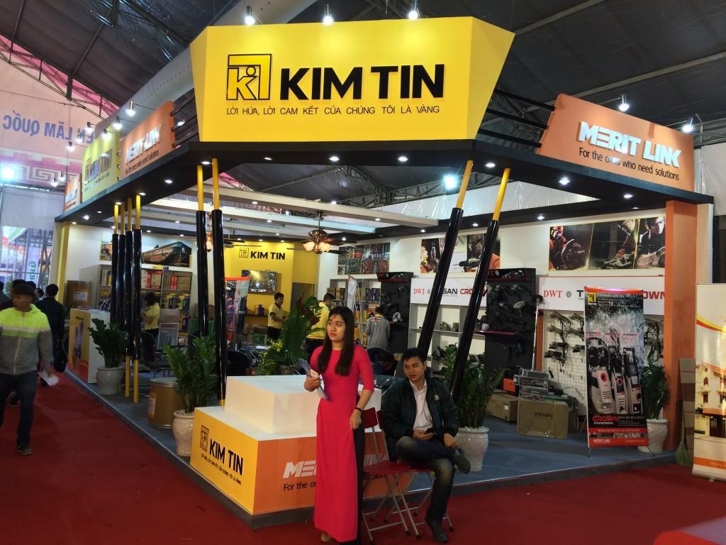 Gian hàng Kim Tín - Vietbuid 2016