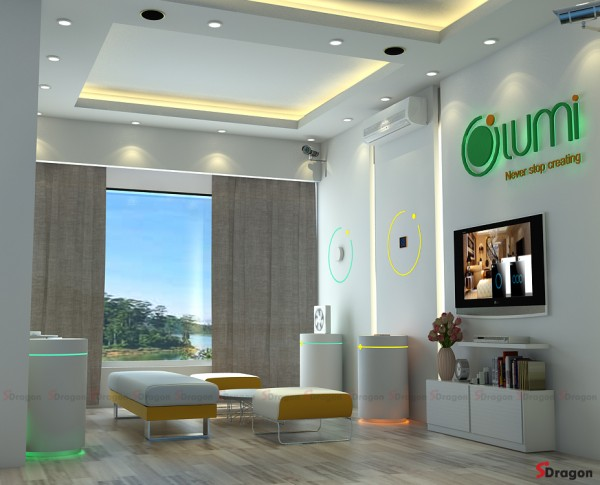 Lumi Showroom Design & Construction