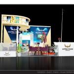 Thiết kế gian hàng hội chợ Khách sạn Mường Thanh – HC VITM2015 (KT6x6)