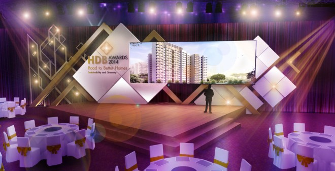 Thiết kế sân khấu sự kiện 03