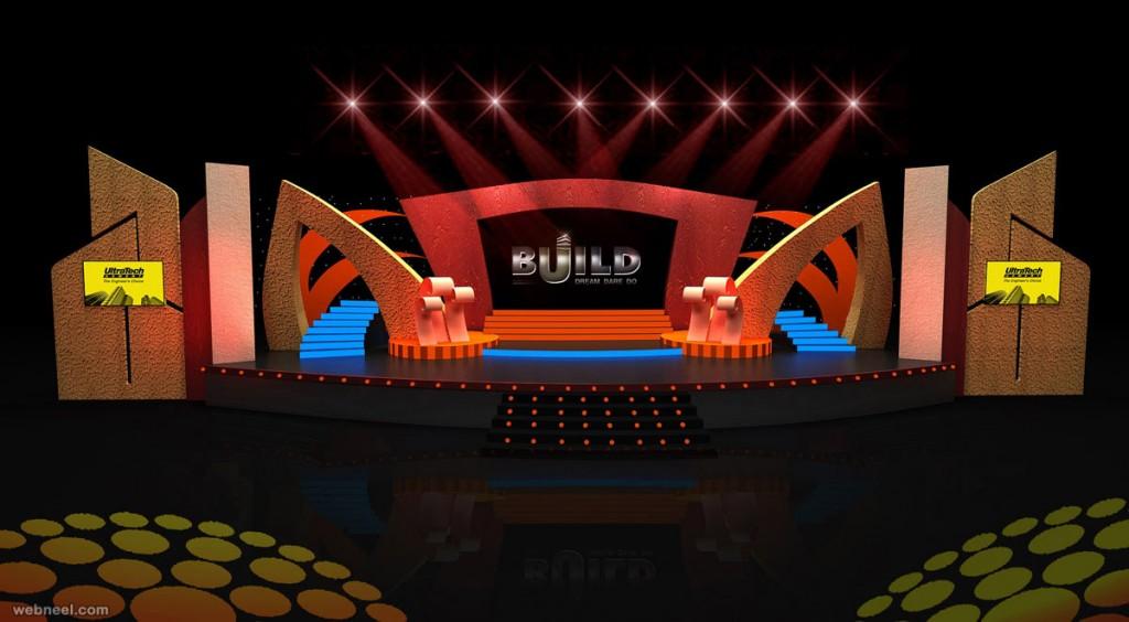 Thiết kế sân khấu sự kiện 04