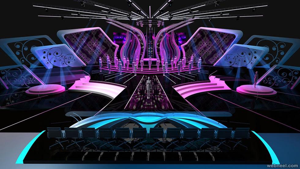 Thiết kế sân khấu sự kiện 05