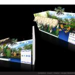Thiết kế gian hàng hội chợ Du lịch Bến Tre – HC VITM2015 (KT9x6)