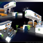 Thiết kế gian hàng triển lãm công ty Đức Thành – TL Vietbuild TP.HCM 2015 (KT 6×6)