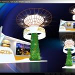 Thiết kế gian hàng triển lãm công ty Đức Thoại – TL Vietbuild TP.HCM 2015 (KT 6×3)