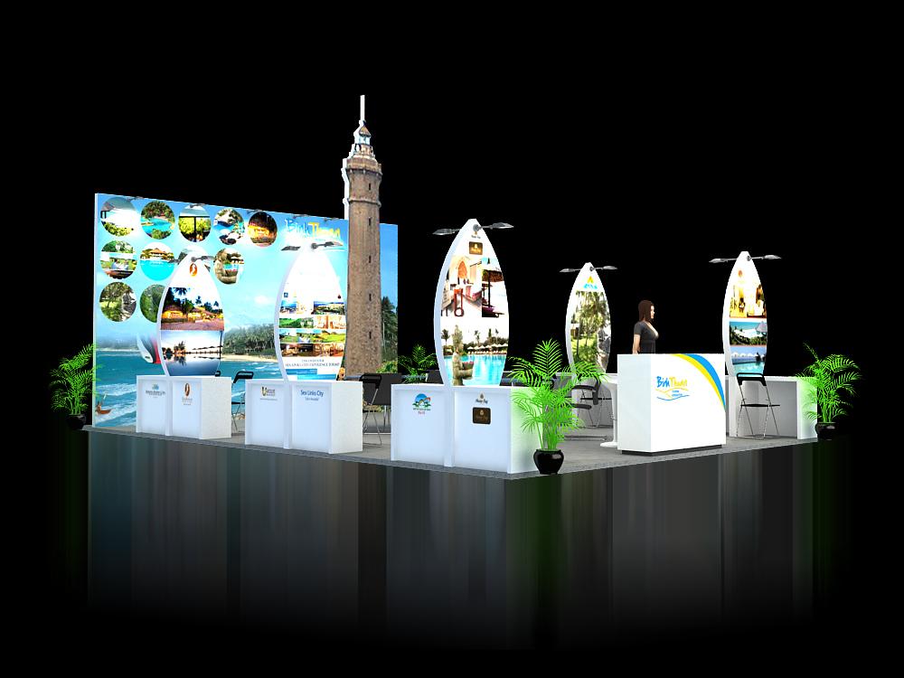 GH Tổng cục Du lịch Bình Thuận – Hội chợ VITM 2015 (KT 6×9)