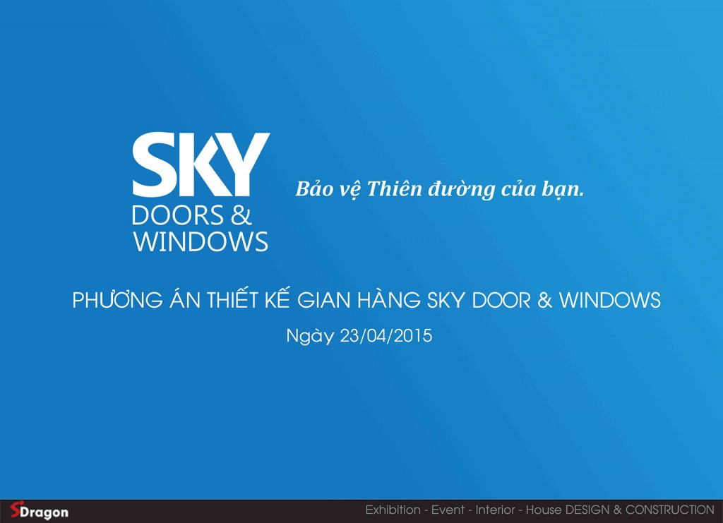 Sky door  & windows design 23 4 20151
