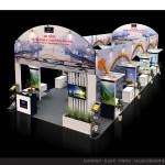 Thiết kế gian hàng hội chợ Hiệp hội Lữ hành Đà nẵng – HC VITM2015 (KT9x6)