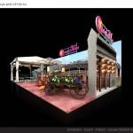 Thiết kế gian hàng Du lịch Việt – HC VITM2015 (KT9x6)