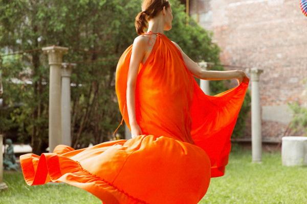 Màu cam magna orange