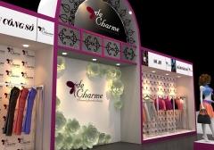 Thiết kế gian hàng tại Hội chợ Thời trang Việt Nam