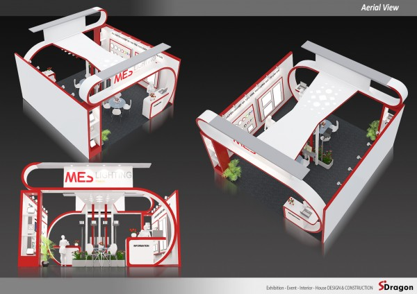 MES Booth Design & Construction
