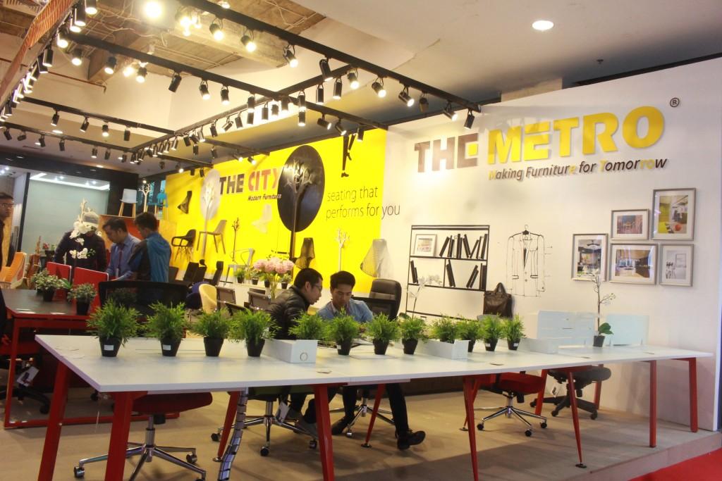 Các sản phẩm trưng bày tại triển lãm đồ nội thất