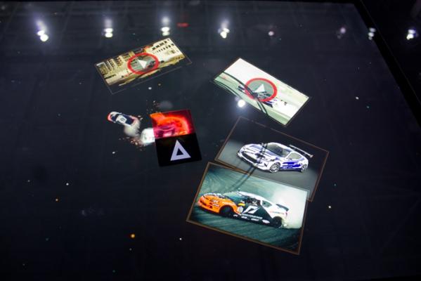 gian hàng triển lãm auto show