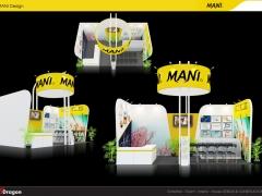 Một số mẫu thiết kế gian hàng triển lãm ấn tượng 2016