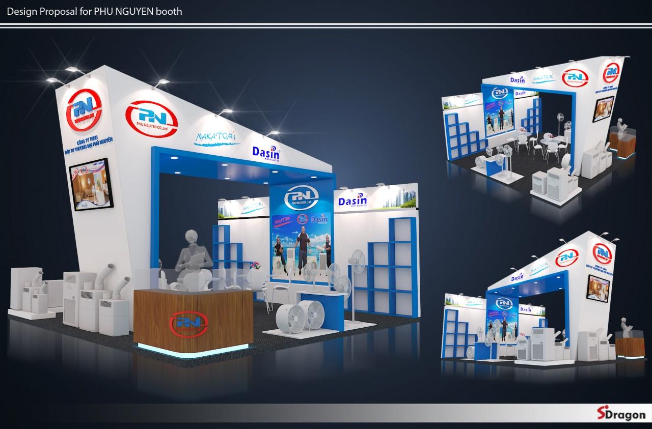 Gian hàng Phu Nguyen - VN Expo