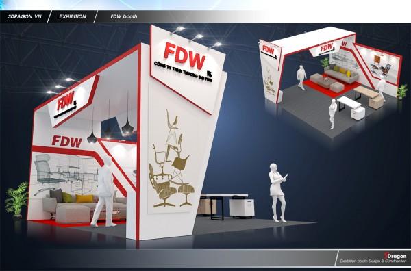 Thiết kế và thi công gian hàng FDW