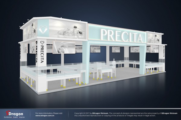 Precita Showroom Design and Construction