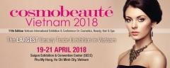 Thiết kế gian hàng triển lãm COSMOBEAUTE VIETNAM 2018
