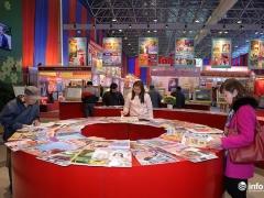 Thi công gian hàng hội chợ tại Triển lãm Hội báo xuân toàn quốc 2018