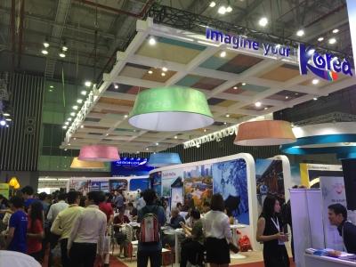 Thiết kế gian hàng  hội chợ du lịch Quốc Tế (ITE) tại Hồ Chí Minh