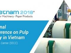 Thi công gian hàng triển lãm quốc tế lần thứ 7 chuyên ngành Giấy và Bột giấy tại Việt Nam- Paper Vietnam 2018