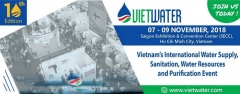 Design & construction booth for Vietwater 2018