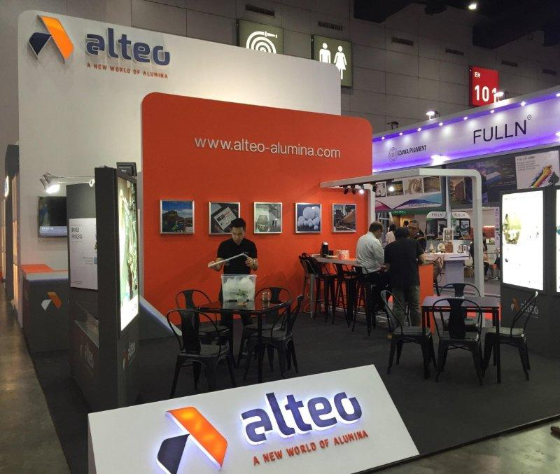 Construction of exhibition booth for Metalex Vietnam 2018
