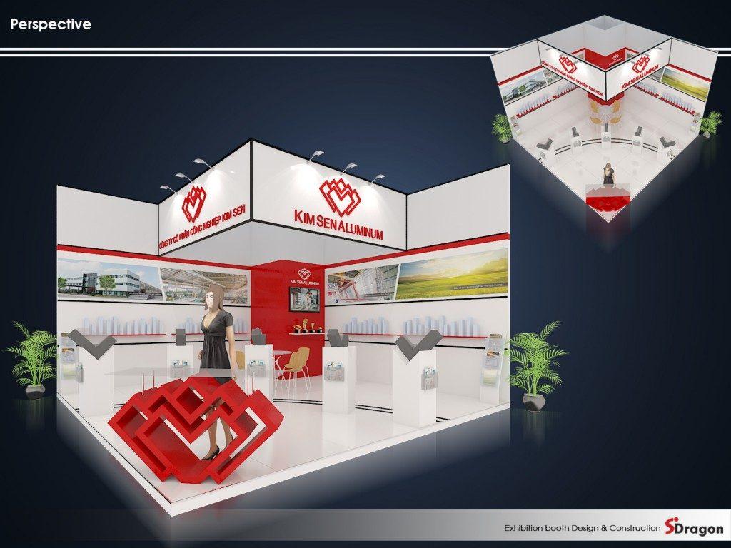 Thiết kế gian hàng triển lãm cho VIIF 2018