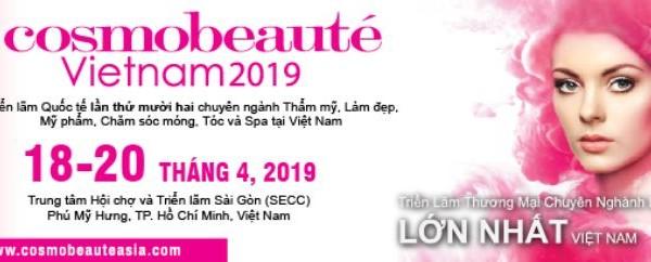 Cosmobeauté 2019 triển lãm Quốc tế chăm sóc sắc đẹp
