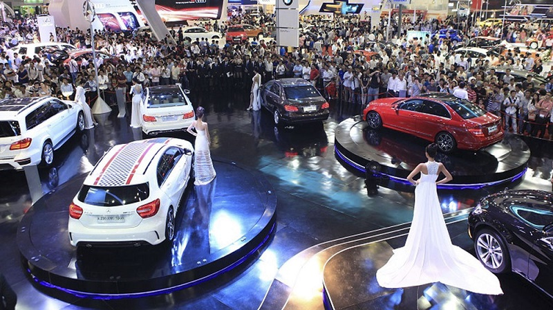 Triển lãm Viet Nam Motor show 1018 tại TP. Hồ Chí Minh