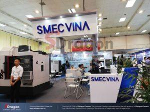 Gian hàng SMEC do Sdragon thiết kế và thi công tại triển lãm MTA 2018