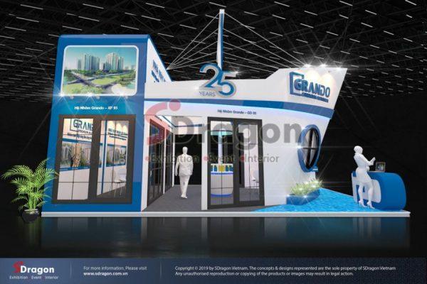 Đô Thành Booth – Design & Construction By SDragon