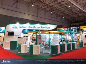 Thiết kế gian hàng triển lãm Taiwan Expo