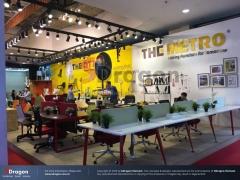 Gợi ý lựa chọn đèn led trang trí trong gian hàng triển lãm