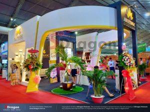 thiết kế gian hàng hội chợ VietBuild