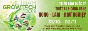 Thiết kế gian hàng triển lãm Growtech Vietnam 2019