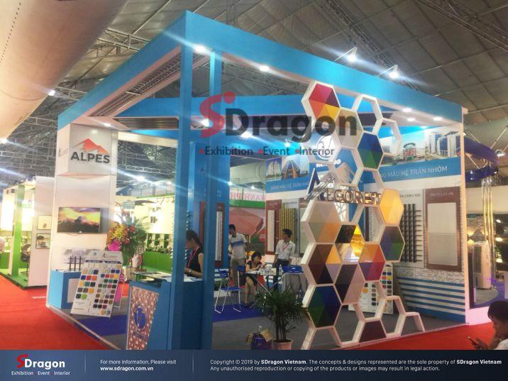 Ý tưởng thiết kế gian hàng hội chợ triển lãm VCCA