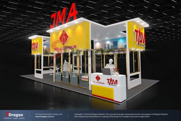 Gian hàng JMA – VietBuild 2019