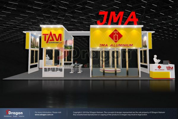 JMA Booth – VietBuild Exhibition