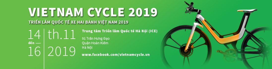 thiết kế gian hàng hội chợ Vietnam Cycle 2019