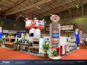 ý tưởng thiết kế gian hàng triển lãm quốc tế VIMAF và VSIF