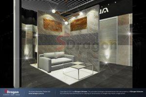 Thiết kế gian hàng triển lãm Vifa Home
