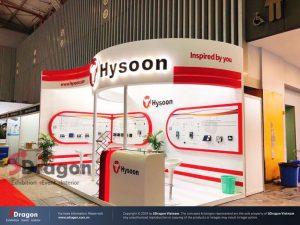 Thiết kế gian hàng triển lãm Vietnam Expo