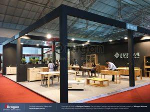thiết kế gian hàng triển lãm tại Vifa expo 2020