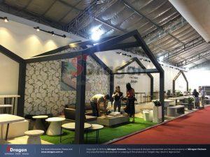 thiết kế gian hàng triển lãm ngành gỗ nội thất