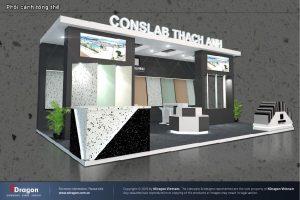thiết kế gian hàng triển lãm Vietbuild