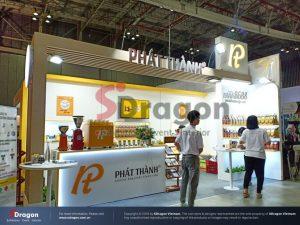 Thiết kế thi công gian hàng triển lãm Top Thai Brand 2020