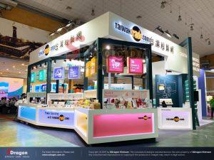 thiết kế gian hàng triển lãm Top Thai Brand