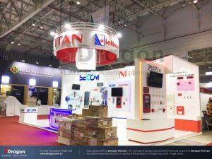 thiết kế gian hàng triển lãm ILDEX Việt Nam